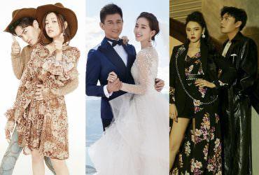 盤點五對台陸夫妻檔,劉詩詩吳奇隆神仙伴侶、陳曉陳妍希因戲生情,這對卻傳婚變?!