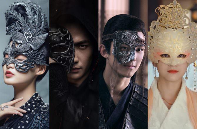 盤點7位超威「面具殺」演員,颯爽李沁、深沉朱一龍、華貴張雪迎,誰最令你一見驚鴻呢?