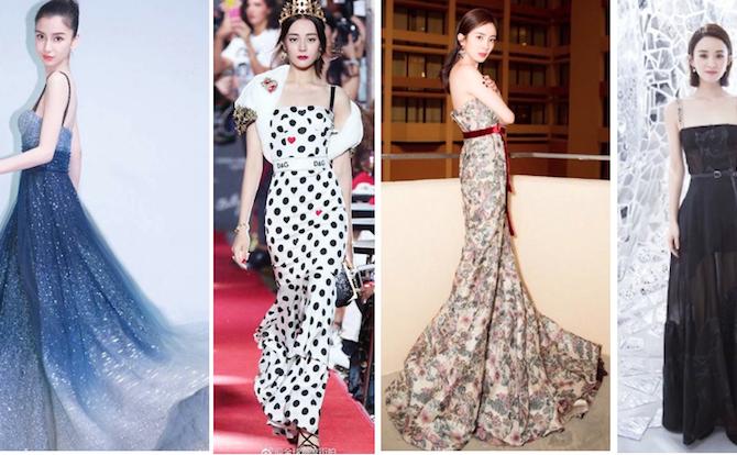 """2017女星紅毯禮服排名,誰的戰服讓她成為時裝""""霸毯""""女王?"""