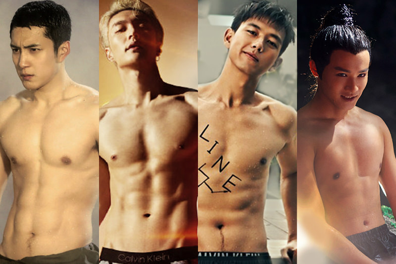 男星「肌肉照」出爐!鄭業成、韓東君、李現有顏有身材都上榜,這9位鮮肉誰令你血脈噴張!?